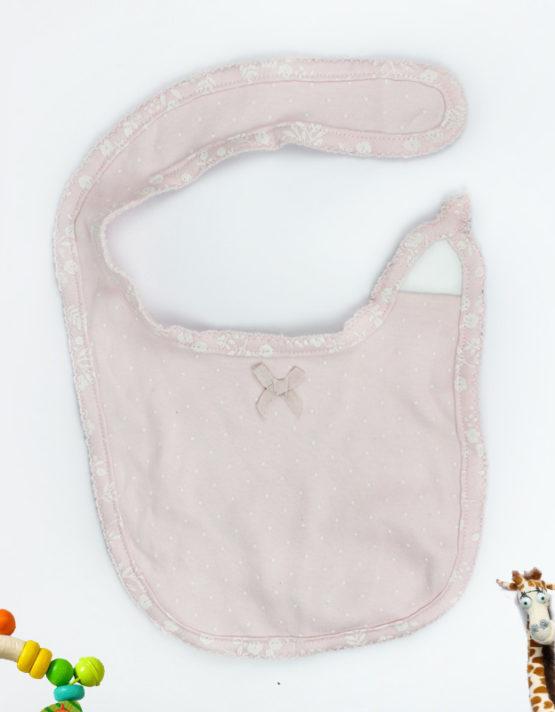 Cute Pink Baby Bib
