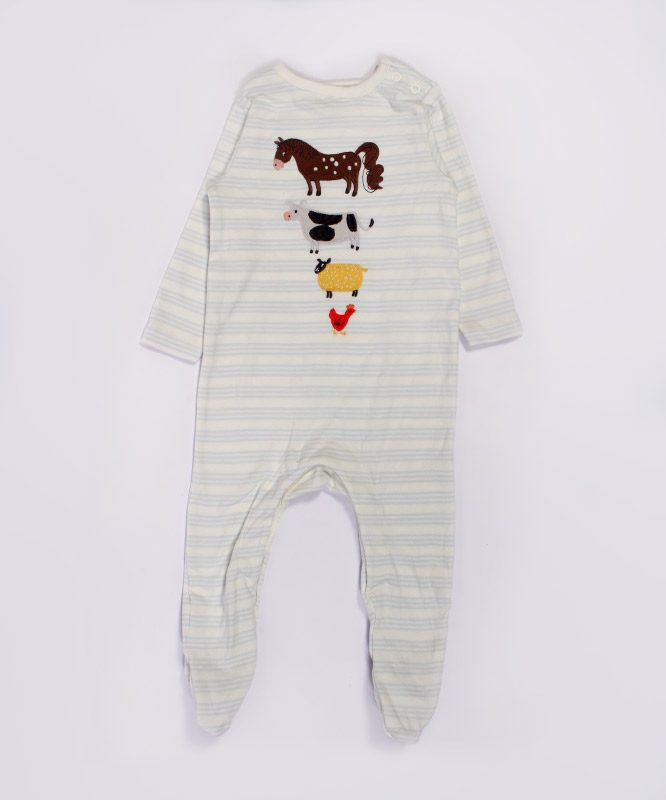 Farm Animals Baby Jumpsuit