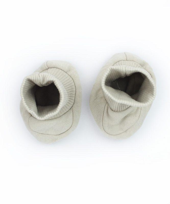 Grey Little Dreamer Baby Booties