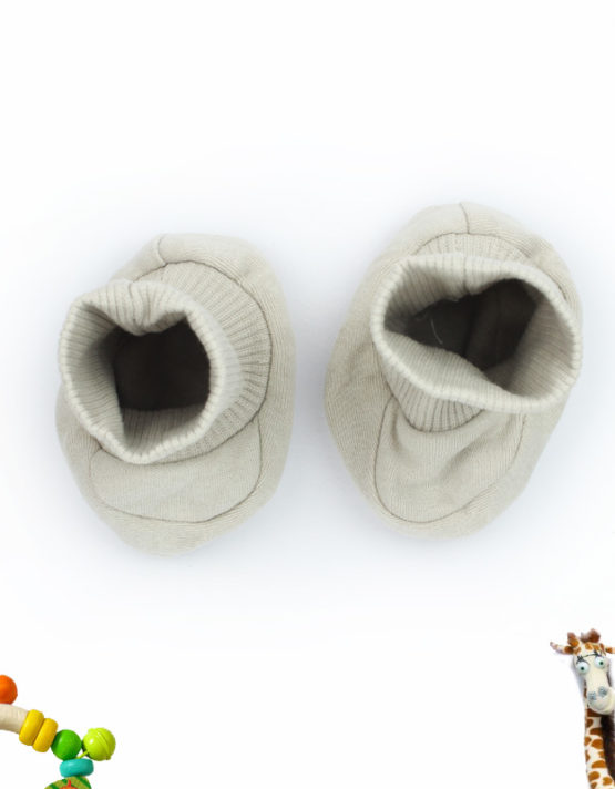 Grey Little Dreamer Baby Booties