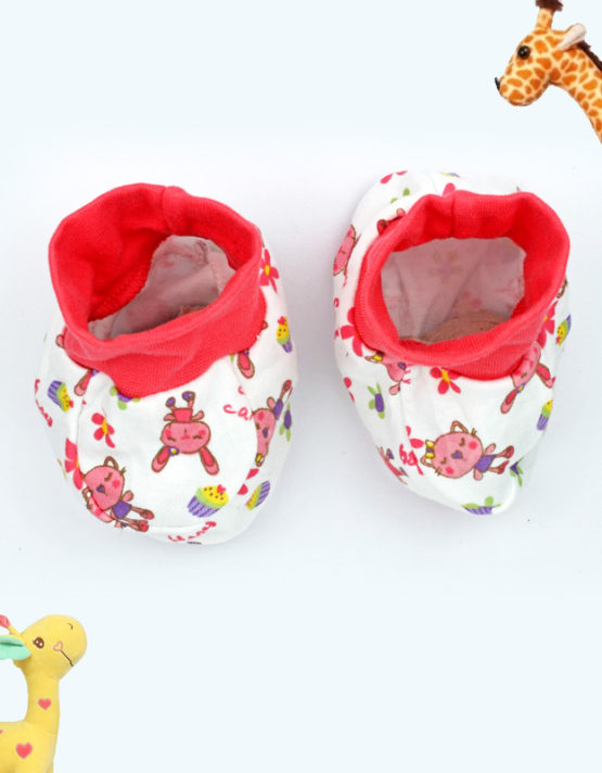 Happy Cat Baby Booties