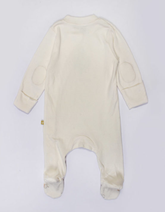 little one pale yellow jumpsuit