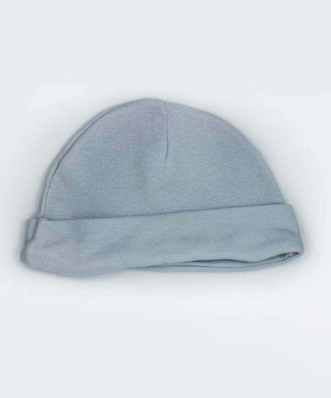 Plain Grey Baby Cap