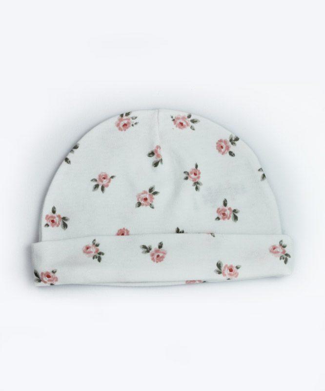 rose design baby cap giraffy.in