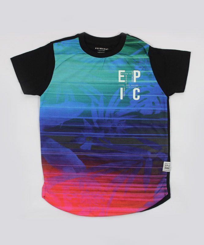Blue Epic Kids T shirt