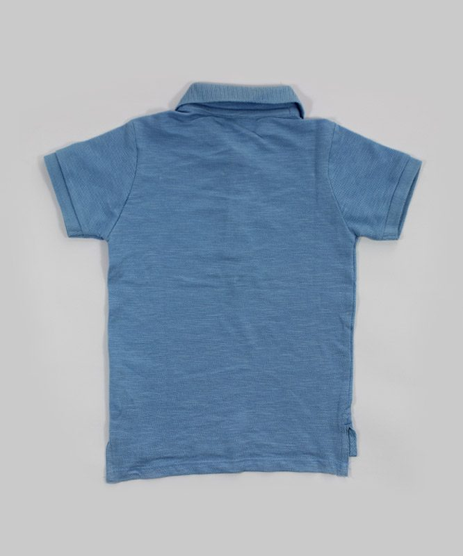 blue polo kids t shirt