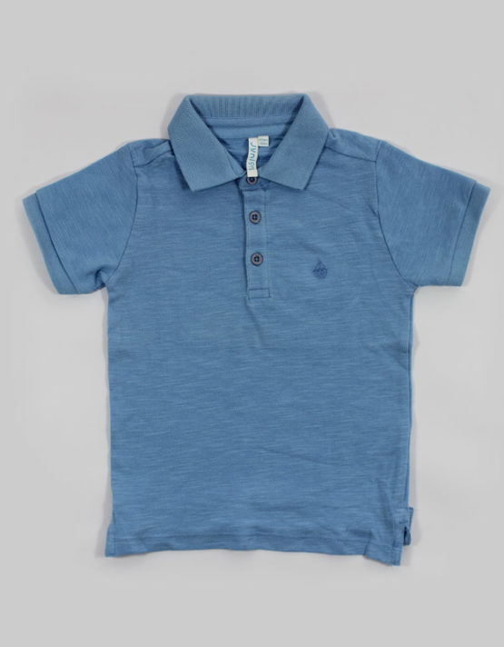 blue polo kids t shirt