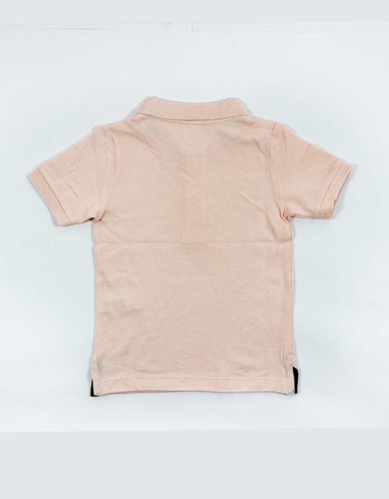 hems pink polo kids tshirt