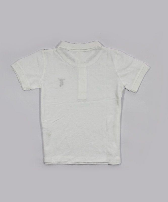 hems white polo kids tshirt