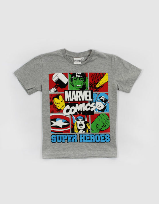 marvel comic super heroes kids t shirt