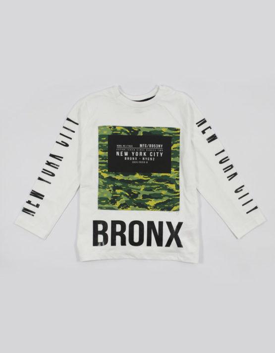 new york city bronx kids tshirt