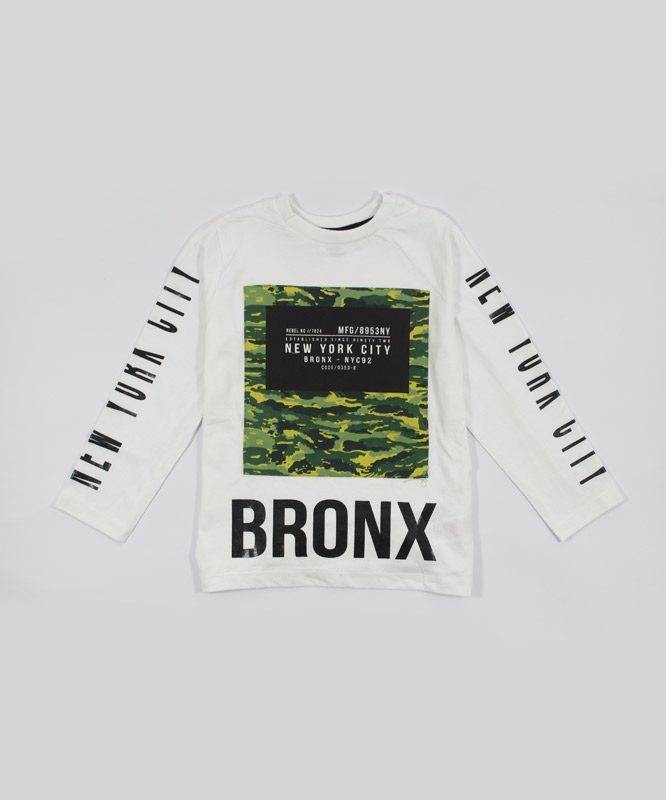 new york city bronx kids tshirt