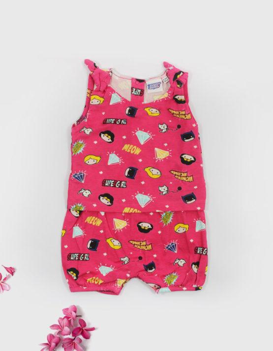 pink super- girl dress big