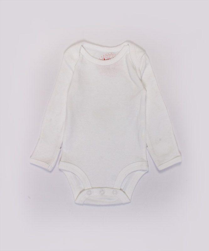 plain white baby onesies