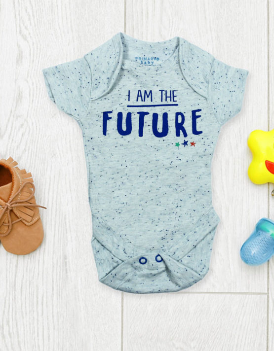 I'm The Future Baby Rompers