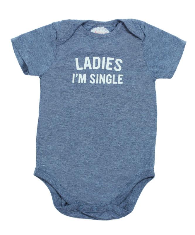 Ladies I'm Single Baby Rompers
