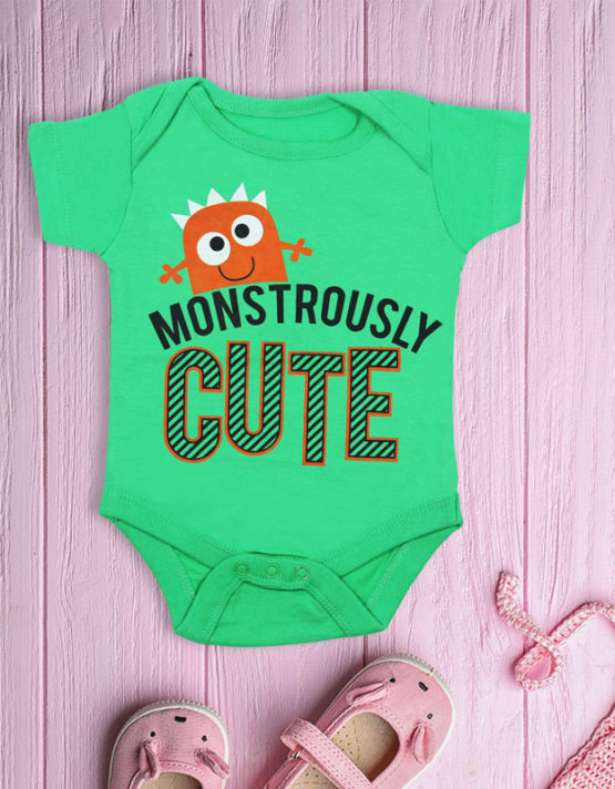 Monstorously Cute Baby Rompers