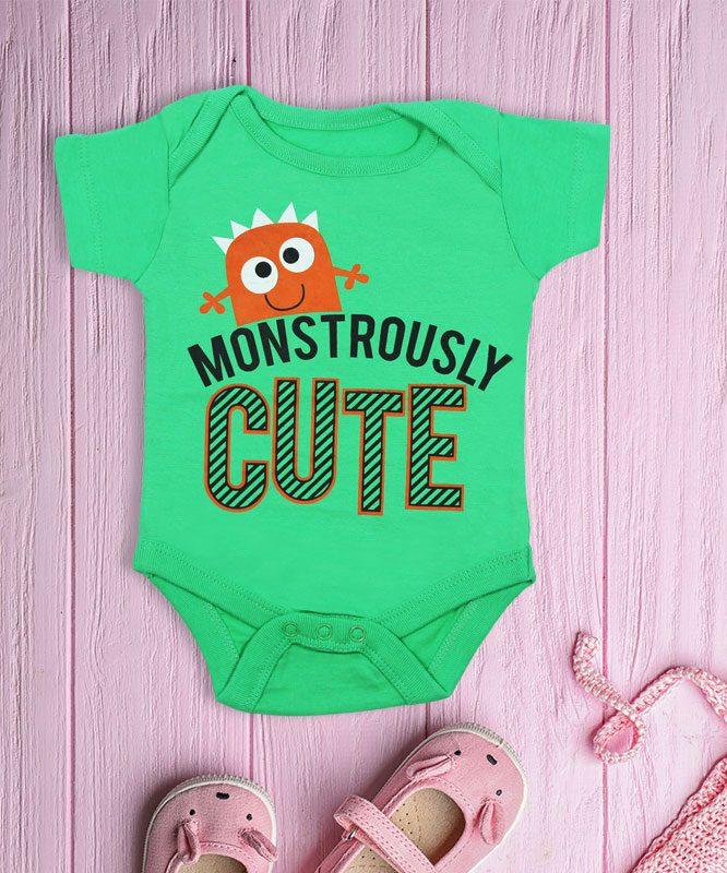 Monstorously Cute Baby Rompers