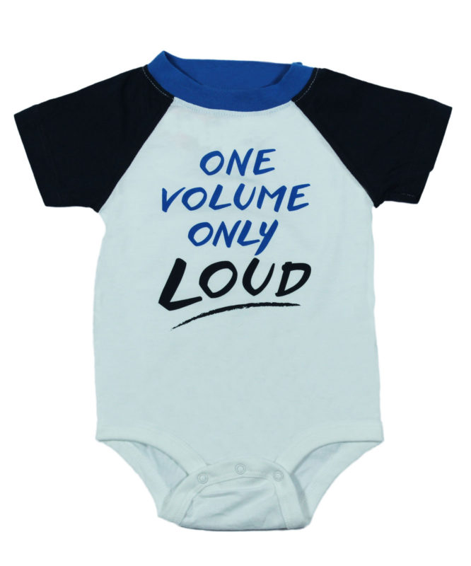 One Volume Only Loud Baby Rompers