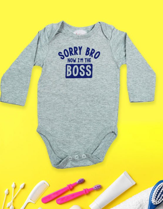 Sorry Bro I'm the Boss Baby Rompers