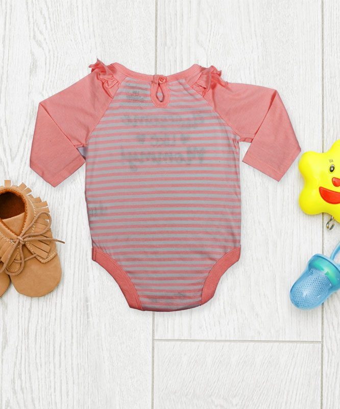 Awesome like Mommy Pink Baby Rompers