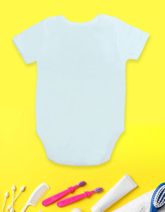 Sorry I can't talk now White Baby Rompers