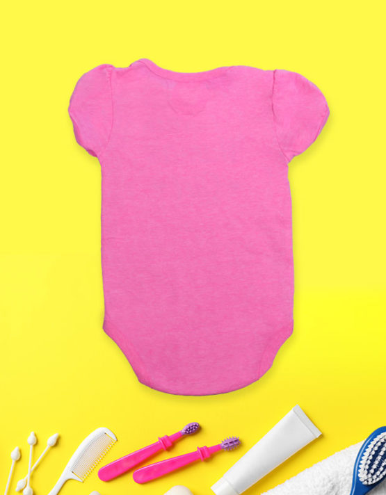 Status Mama's Girl Pink baby Rompers