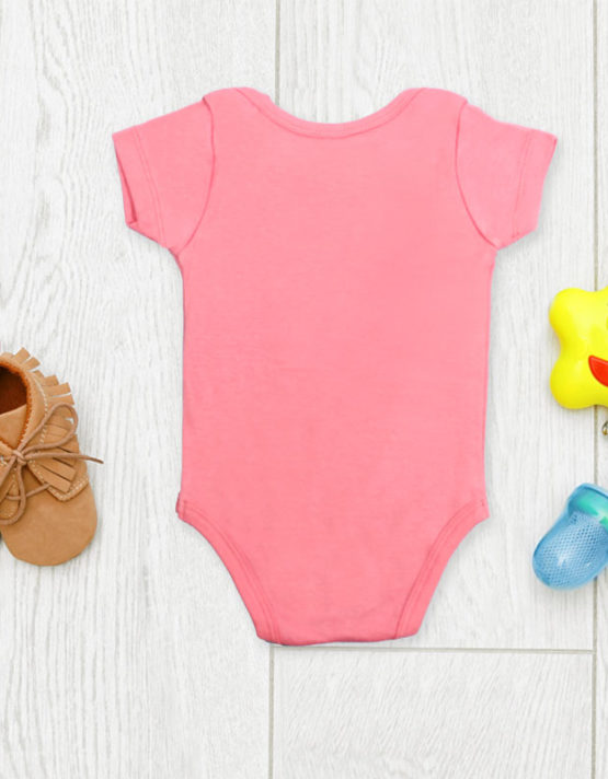 Make a little wish Pink Baby Rompers