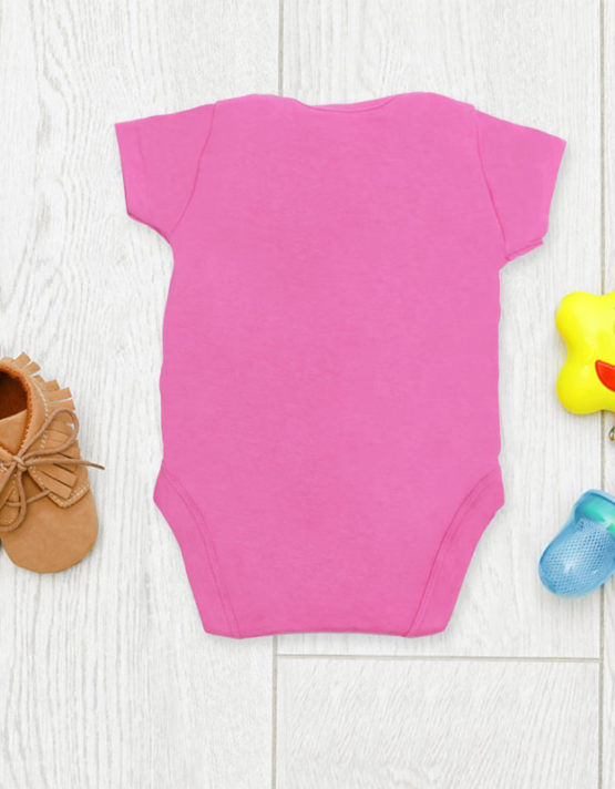 Pertty Puurfect Pink Baby Rompers