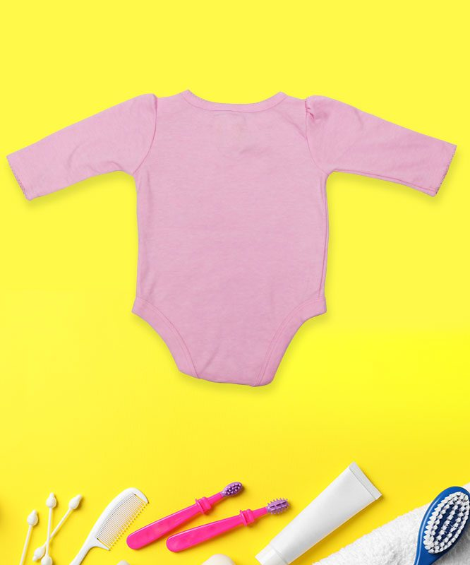 Too Sweet Money on Pink Baby Rompers