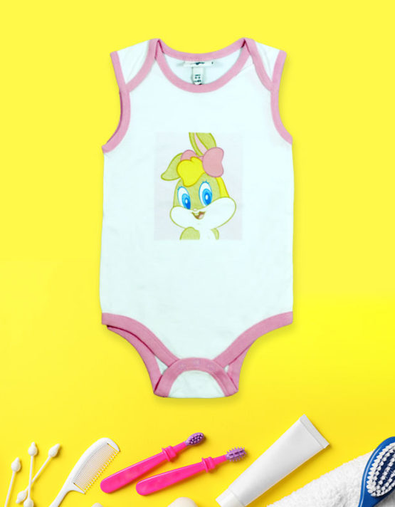 Tweety On White Romper