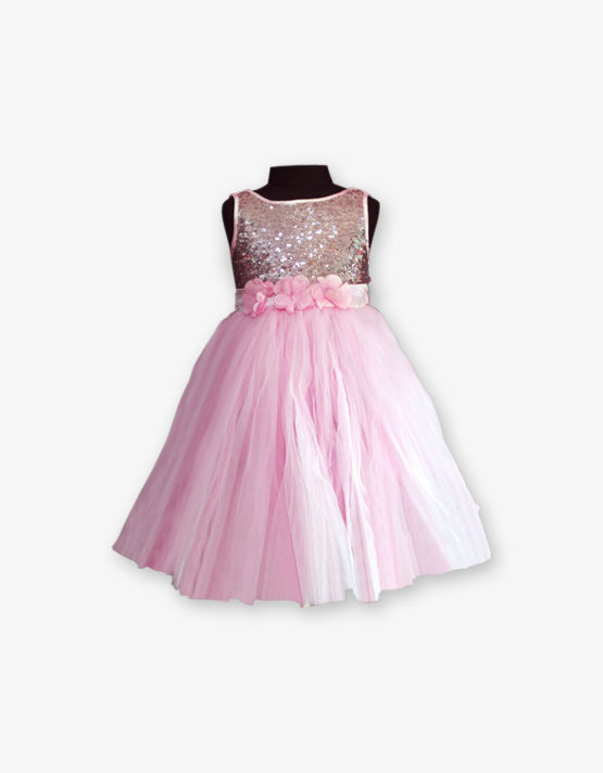 Baby Pink Party wear Gown