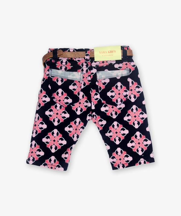 Black and pink shorts