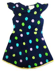 Blue-doted-frock