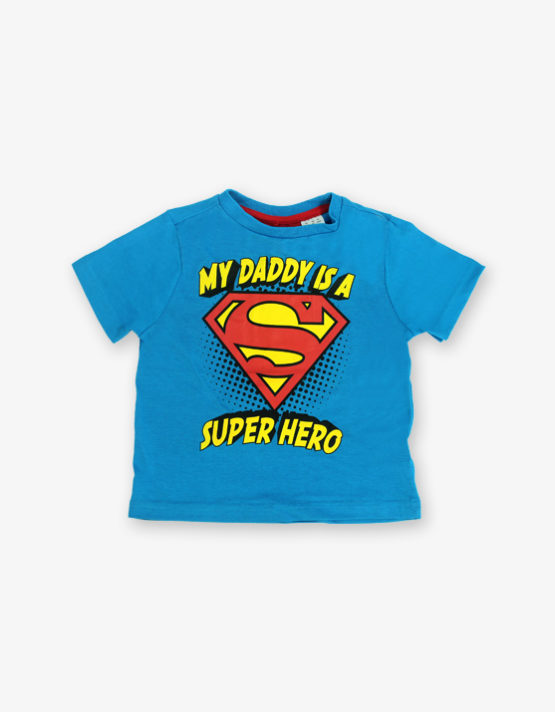 Blue super hero Tshirt_600_front
