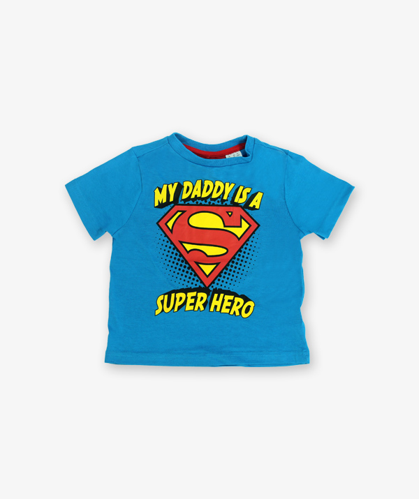 Blue super hero Tshirt_600_front