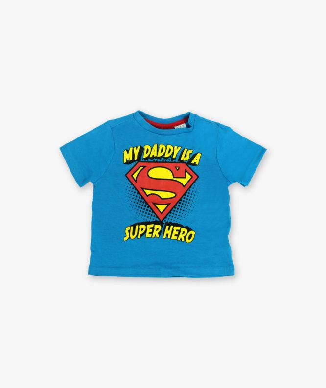 Blue super hero Tshirt_lg_front