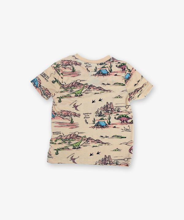 Cream Printed Tshirt_600_back