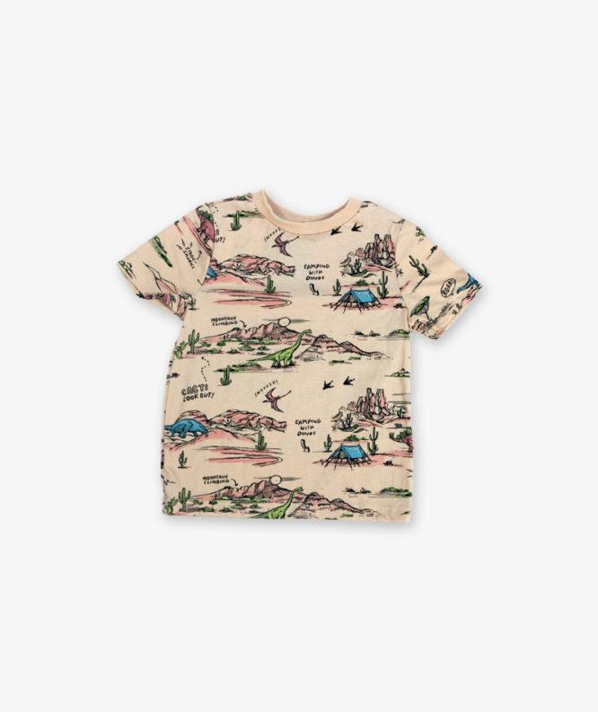 Cream Printed Tshirt_lg_front