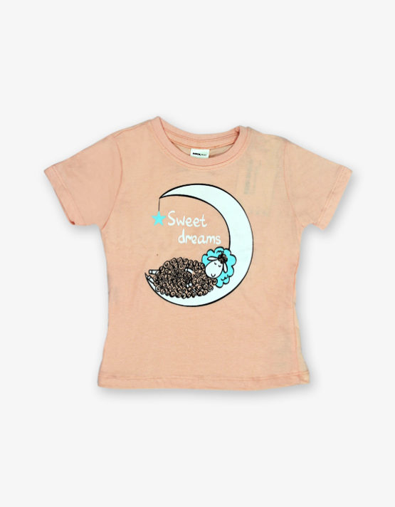 Cream, sweet dreams printed tshirt