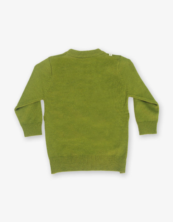 Green Hamburger printed sweater_md_back