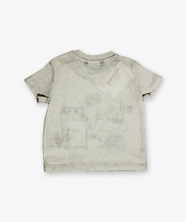 Grey Cartoon Printed Shirt_600_back