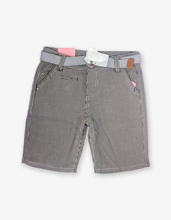 Grey checked Shorts
