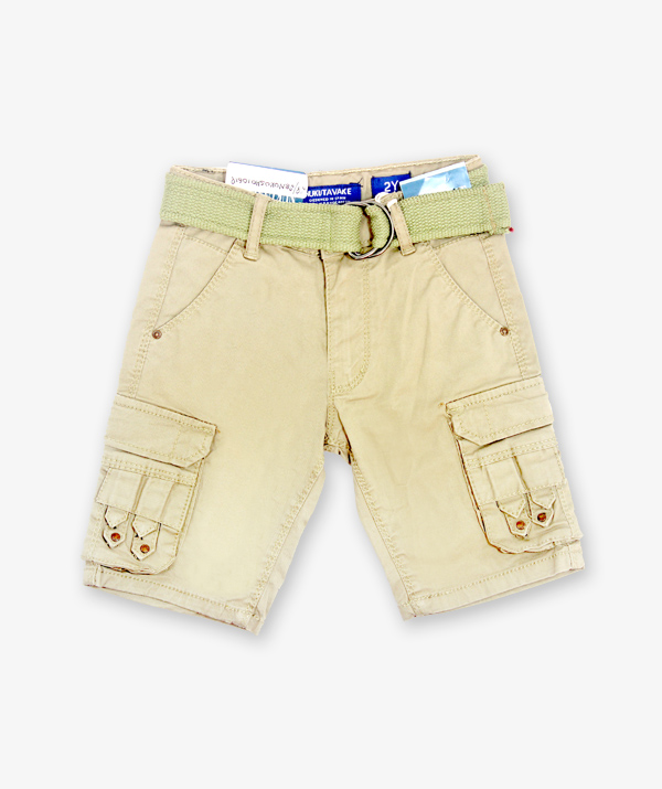 Khaki color shorts