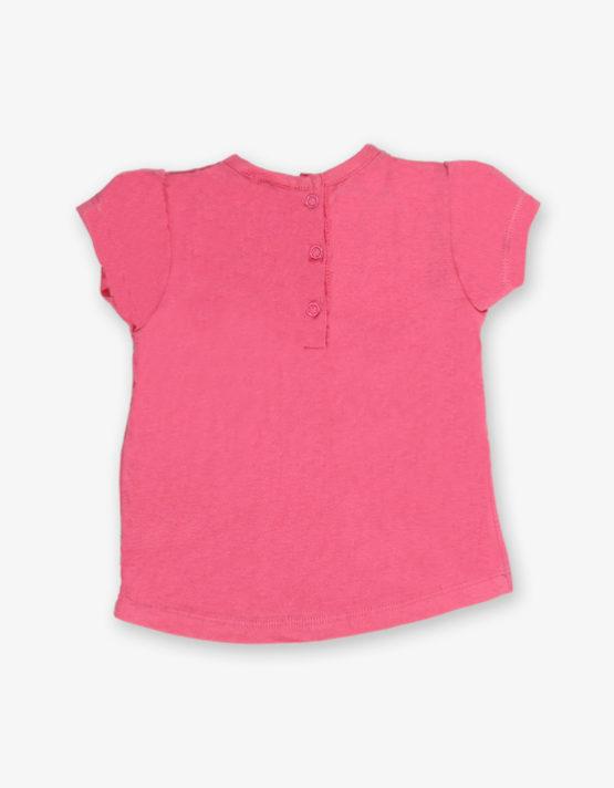 Pink printed tshirt_med_back