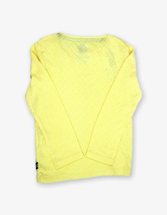 Plain yeloow tshirt_med_back