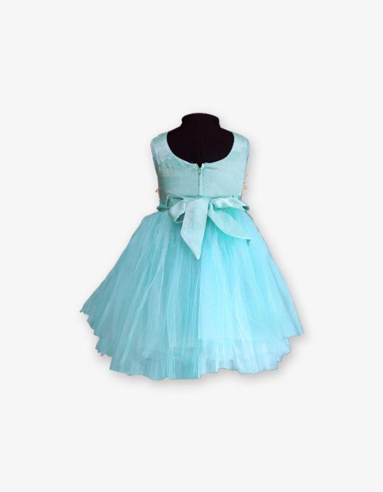 Sky Blue Party wear Gown