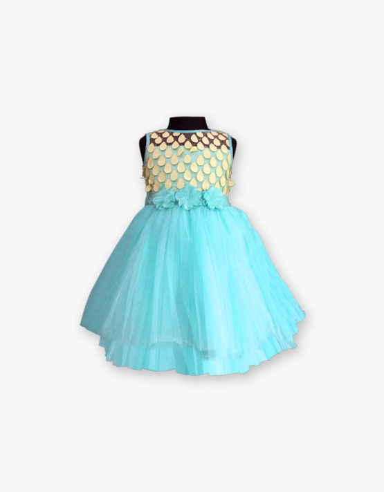 Sky Blue Party wear Gown
