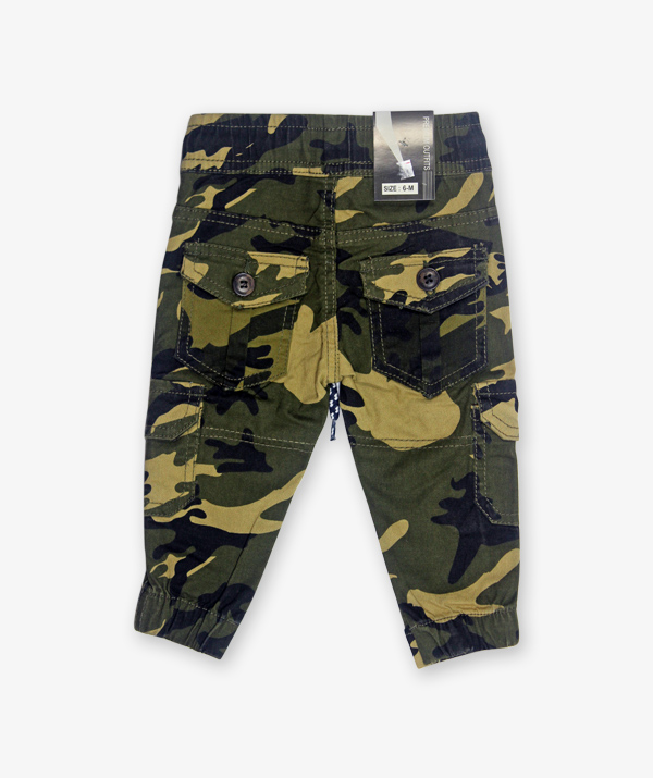 camouflage light green pant