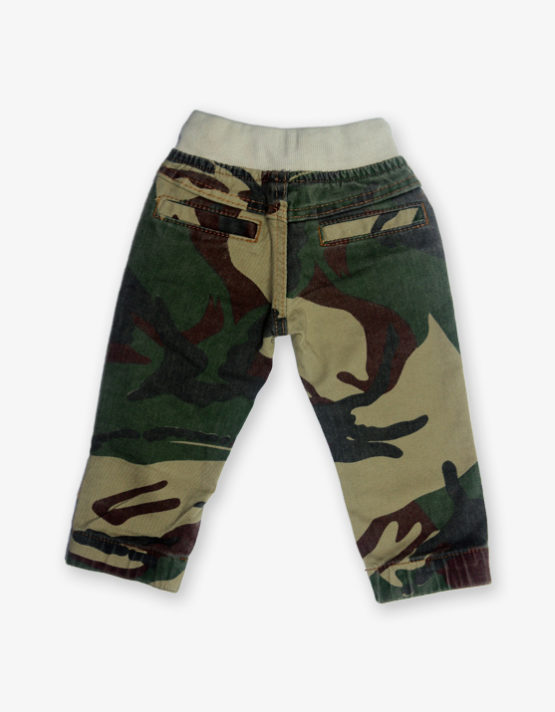 camouflage printed pant